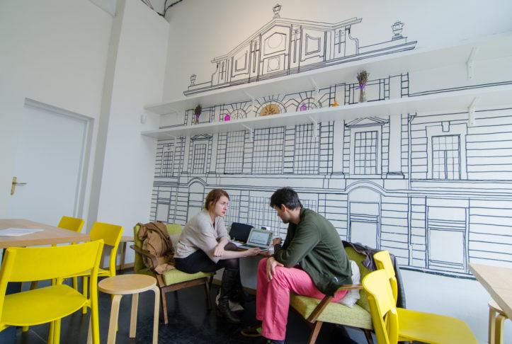 Kaviareň na stretnutia