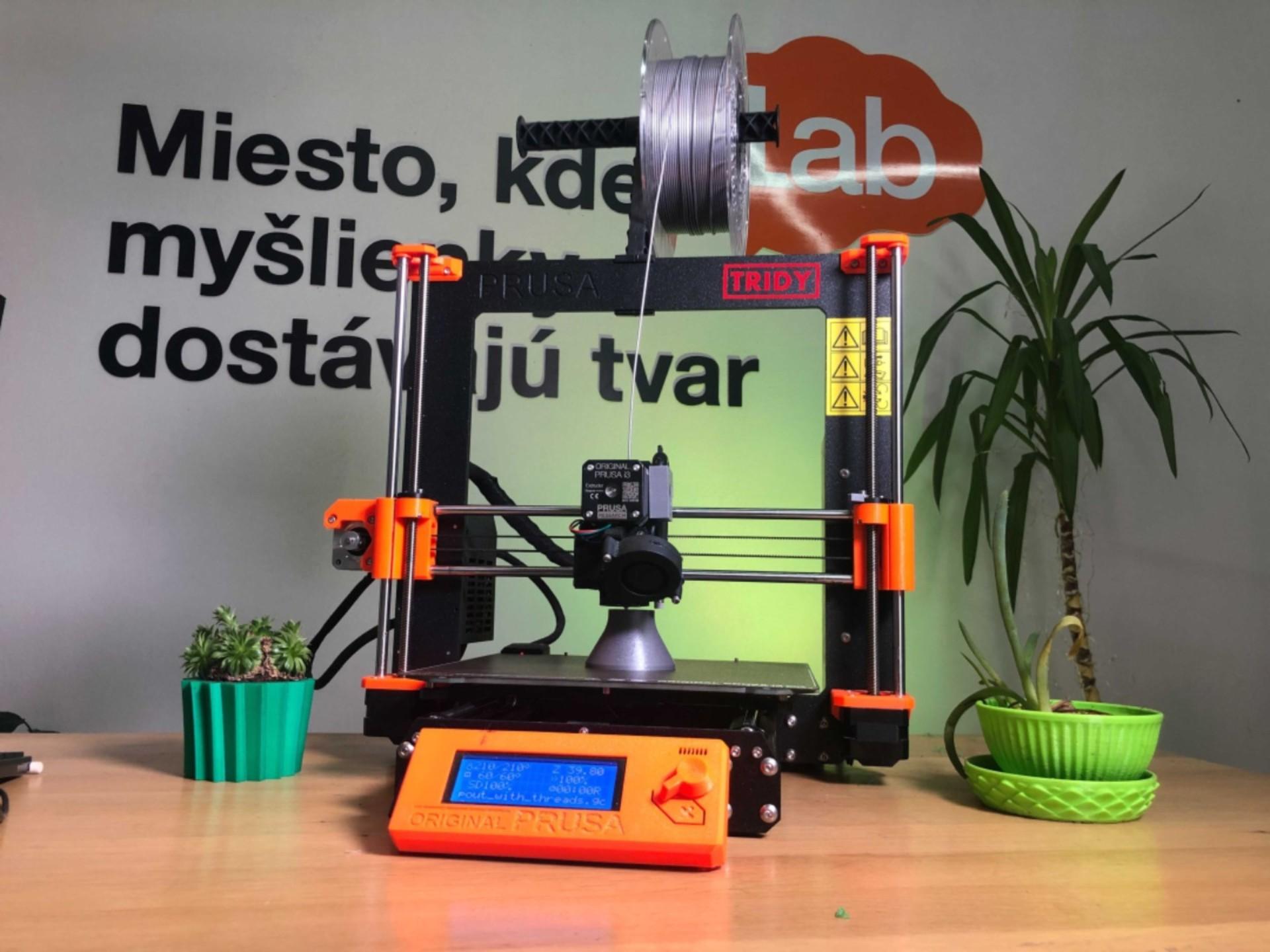 Online kurz základy 3D tlače